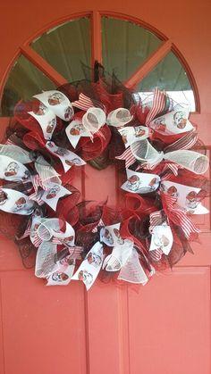 Ga Bulldog Deco Mesh Wreath