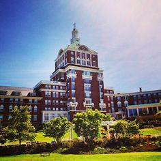 The Omni Homestead Resort in Hot Springs, VA