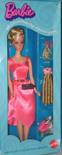 Growin' Pretty Hair Barbie from MOD Barbie ID Guide - Barbie, Fashion Icon of the 60's