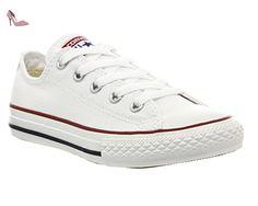 Converse , Mädchen Sneaker xxx, Weiß - Optical White - Größe: 1 youth UK - Chaussures converse (*Partner-Link)