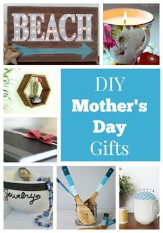 It can be hard to come up with a gift that adequately conveys how much we appreciate our moms but here are some cute and simple ideas of gifts you can make yourself. Puede ser difícil llegar con un regalo que transmite adecuadamente cuánto apreciamos nuestras madres , pero aquí hay algunas ideas lindas y simples de regalos que puede hacer usted mismo. http://wondermomwannabe.com/diy-mothers-day-gifts/