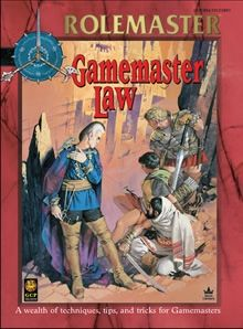 Gamemaster Law for Rolemaster Fantasy Role Playing (RMFRP) from Iron Crown Enterprises.