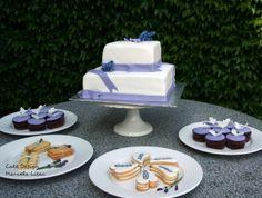 Lavender wedding table