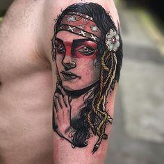 Super work from Kevin McNamara a little while ago  @ Dublin Ink #tattoo#art #Dublin #Ireland