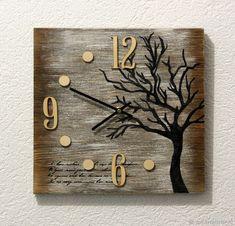 "Watch ""Pushkin A. I loved You. Clock Art, Diy Clock, Clocks Inspiration, Photo Wall Clocks, Instalation Art, Wall Watch, Kitchen Wall Clocks, Wall Clock Design, Wood Clocks"