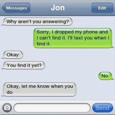 There are no words... wait.. is this guy texting Nina?? :P @Kristina Senecal