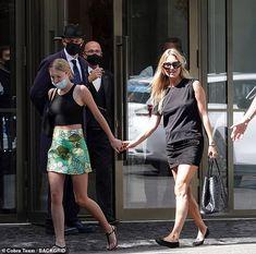 Rome, Fendi, Kate Moss Style, Look Alike, Kendall Jenner, Celebrity Style, Sequin Skirt, Mini Skirts, Daughter