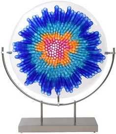 Glass sculpture by Gary Beecham and Mary Lynn White
