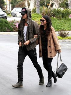 Vanessa Hudgens - Vanessa Hudgens and Austin Butler Together in LA
