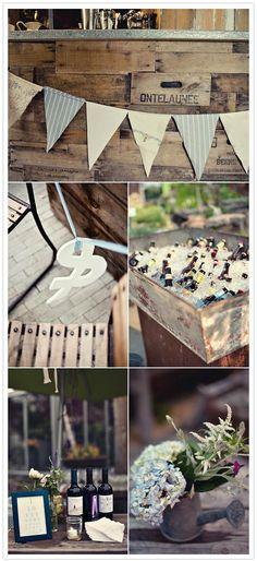 anthropologie wedding | Anthropologie style wedding at Terrain: Mindy + Mark | Real Weddings ...