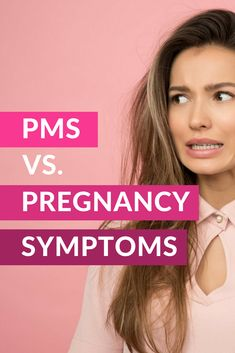 Fatigue, cramping and mood swings. Could it be Premenstrual syndrome (PMS) or a sign of pregnancy? For a woman attempting to conceive, there are certain symptoms that mimic early pregnancy, especially if you struggle with Am I Pregnant, Womens Wellness, Pregnancy Signs, Mood Swings, Pms