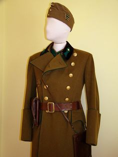 Hungarian Royal Army infantry officers' winter field uniform.