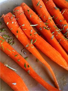Roasted Carrots Appetizer | www.reluctantentertainer.com