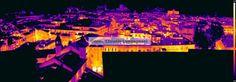 Termografia: Il calore della città visto dalla Ghirlandina