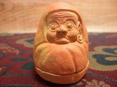 Antique Daruma Koro - This is essentially an incense vessel in the likeness of Japan's legendary monk, Novelty koros play a part in Japanese tea ceremony. Japanese Incense, Japanese Tea Ceremony, Buddhist Monk, Two By Two, Things To Come, San, Antiques, Reading, Etsy