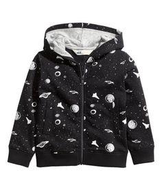 H&M planet print hoodie