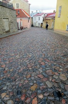 cobblestone streets everywhere in the Olde Towne 12th Century, Earth, Street, City, Cities, Walkway, Mother Goddess, World, The World