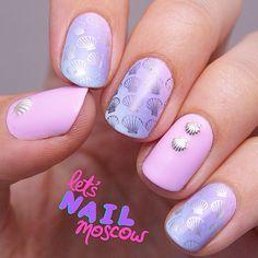 Let's Nail Moscow: Shell nails