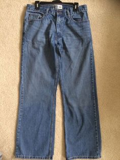 Men's Levi Strauss Signature Jeans Size 32/32 length 100% cotton Bootcut #LeviStraussSignature #BootCut