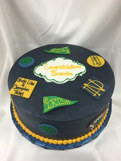 Irish, Graduation, Cake, Desserts, Food, Pie Cake, Tailgate Desserts, Pie, Deserts