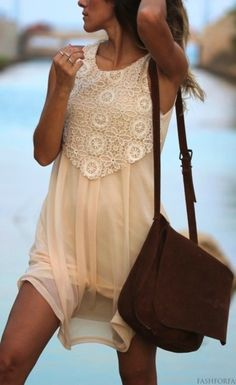 Sheer is Here for Summer. Boho chic