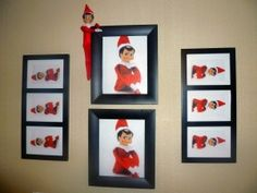 This blog has tons of Elf on the Shelf ideas!  This is Part 3!