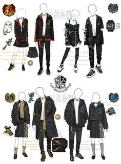 Pin by Hon APM on in 2019 Harry potter art Harry potter outfits Drawing clothes Pin by Hon APM on in 2019 Harry potter art Harry potter outfits Drawing clothes nbsp hellip Mode Harry Potter, Estilo Harry Potter, Arte Do Harry Potter, Harry Potter Anime, Harry Potter Outfits, Harry Potter Fandom, Harry Potter Kleidung, Clothing Sketches, Drawing Clothes