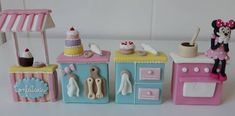Disney Word, Candy Shop, Cookie Decorating, Baby Room, Room Decor, Clay, Chocolate, Baking Ideas, Creative