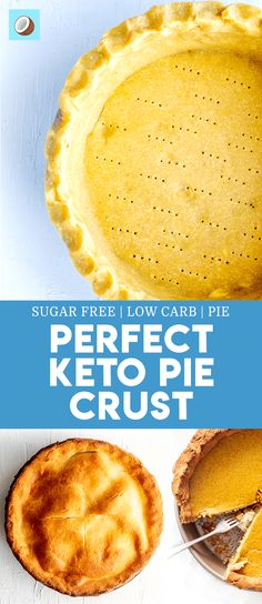 Keto pie crust is the perfect base for any type of baked goods or keto dessert. It's by far the closest recipe that you'll find that resembles a homemade pie base from regular wheat flour, but its…More 15 Mouth Watering Keto Friendly Dessert Ideas