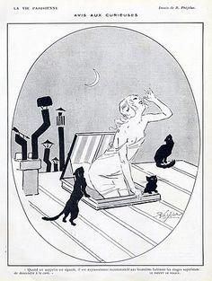 René Préjelan, La Vie Parisienne, 1915