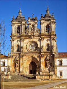Monastery and Church of Alcobaça - Leiria, centre of #Portugal (1h30 from Lisbon)