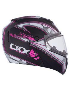 CKX 2015 - Snowmobile Modular helmets - M710 BLADE Pink - ckxgear.com