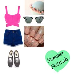 """Summer Festivals"" by vanessaguerraa on Polyvore"
