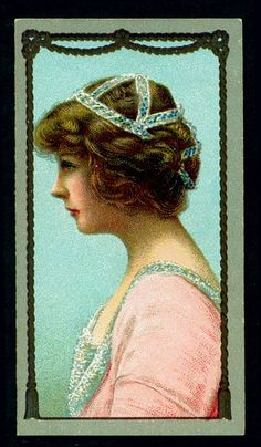 Cigarette Card - Actress, Miss Marie Lohr   Flickr - Photo Sharing!