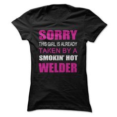 Awesome Tee Taken By A Welder T-Shirts