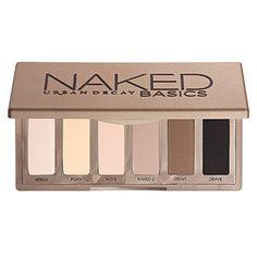 urban decay naked basics palette DONE!