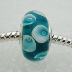 """""""Teal Tears"""" Sometimes teal warriors cry... http://eurobeadsboutique.com/shop/teal-tears/"""