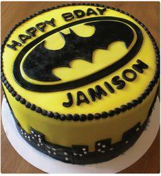 batman cakes | Pin Homemade Batman Cake Cake on Pinterest