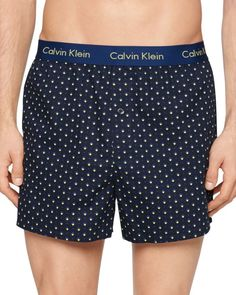Calvin Klein Woven Check Slim Fit Boxers