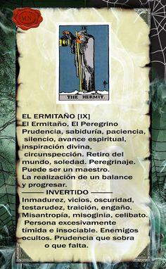 Trastos de Bruja Tarot Significado, Le Tarot, Tarot Card Meanings, Spiritual Messages, Spirit Guides, Wicca, Tarot Cards, Spirituality, Jennifer Aniston