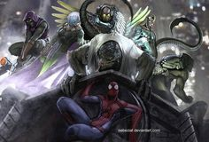 I love this.  Especially the designs of the villains (and especially Mysterio and Scorpion)!
