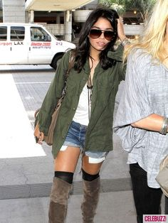 Vanessa Hudgens arrives to LAX airport in Los Angeles on May 11, 2011.