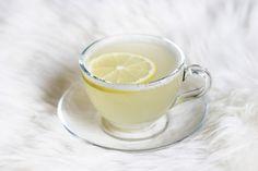 Flunssan karkoittava inkivääri-sitruunajuoma