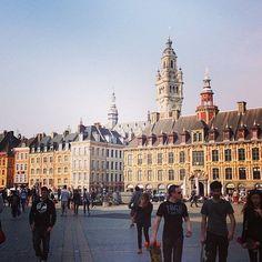 Grand place de #Lille