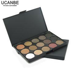 UCANBE Manera A Estrenar 15 de Tierra Color Mate Paleta de Sombra de ojos Del Pigmento Del Brillo Cosméticos Maquillaje Desnudo de Sombra de Ojos paletas