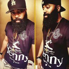 @joserose1  #blackmenwithbeards  #beardlife #blackmenrock #beardedblackmen…