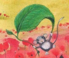 illustr.quenalbertini: Estella Guerrera 'Spring', Pinzellades al món