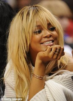 rih's blonde hair was the best