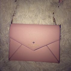 Pink Kate Spade Kate Spade Envelope purse in light pink. Care card will come with it.  kate spade Bags Shoulder Bags