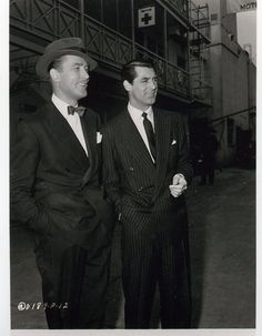 Brian Aherne and Cary Grant